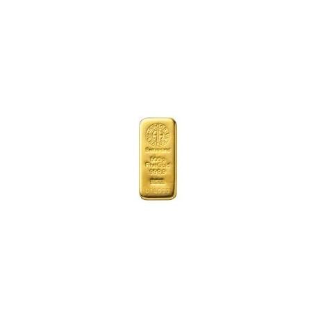 Lingote Oro Puro de 500 gramos